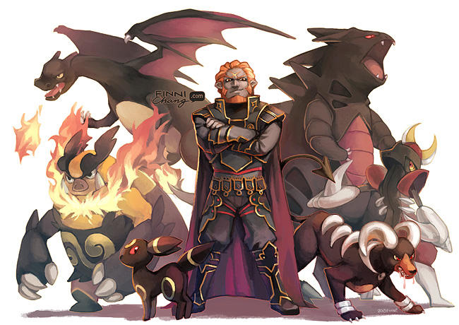 Ganon and Pokemon