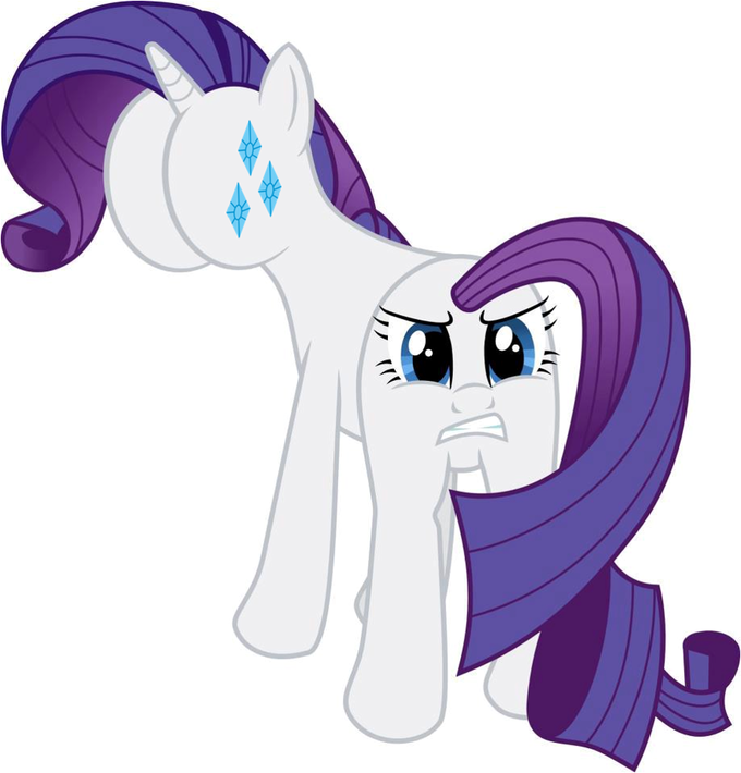 Rarity Butt