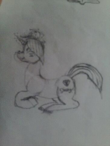 new pony that i drew