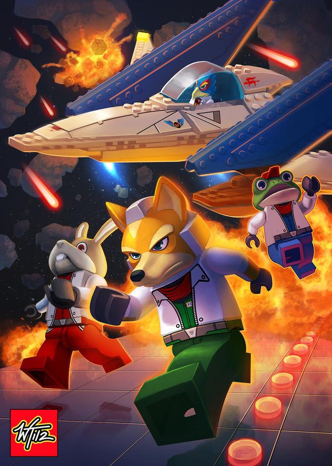 LEGO Star Fox