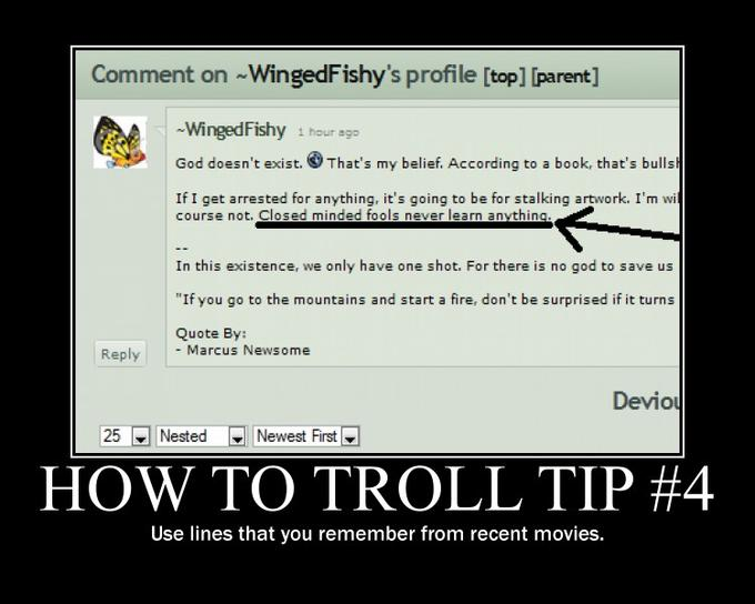 How To Troll #4