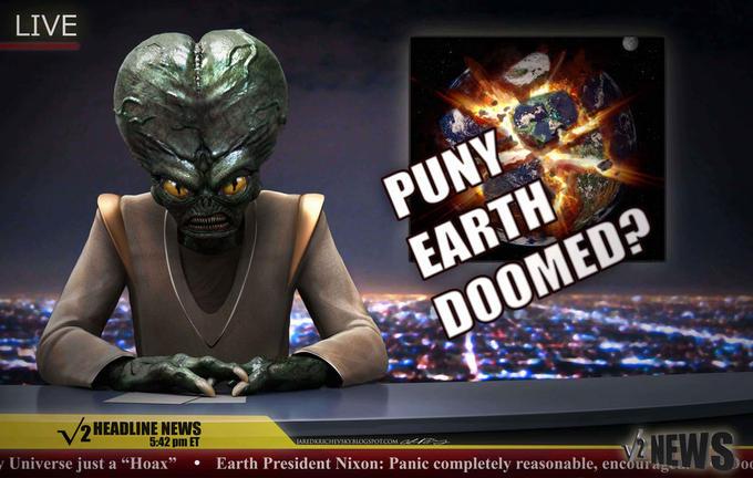 Puny Earth Doomed?