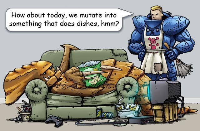 Lazy Zerg Comic