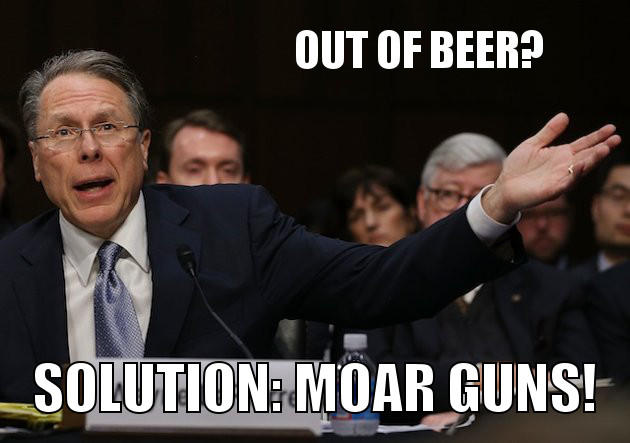Solution: Moar Guns!