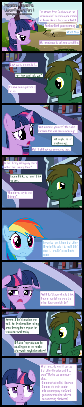 Mysteries of Equestria: Library Robbery: part 11