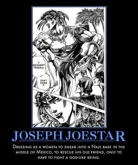 Joeseph Joestar is mai husbando