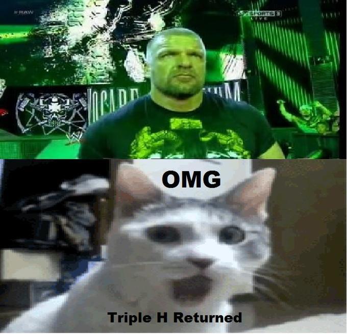 OMG It's Triple H