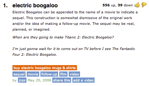 Electric Boogaloo | Kn...