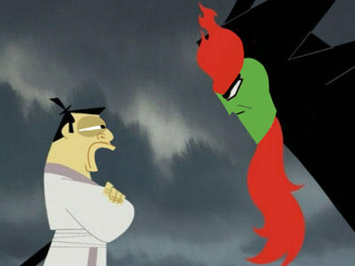Aku and Jack Switch Faces