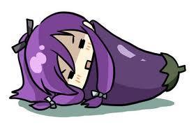 Gakupo as an eggplant