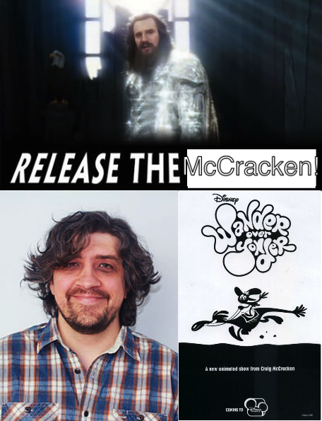 Release the McCracken! Its about time he makes new cartoons!