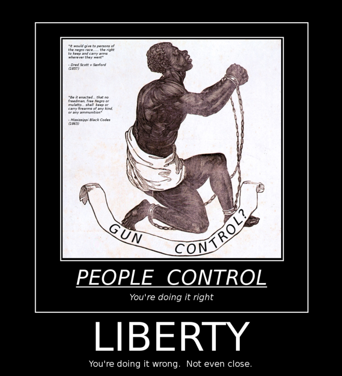 Liberty: You're doing it wrong