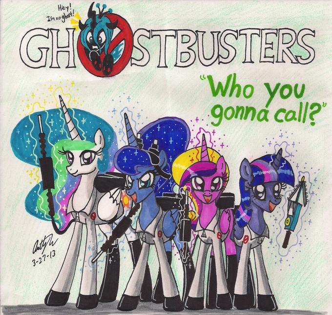 The Royal Ghostbusters!
