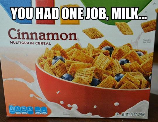 One Job Milk