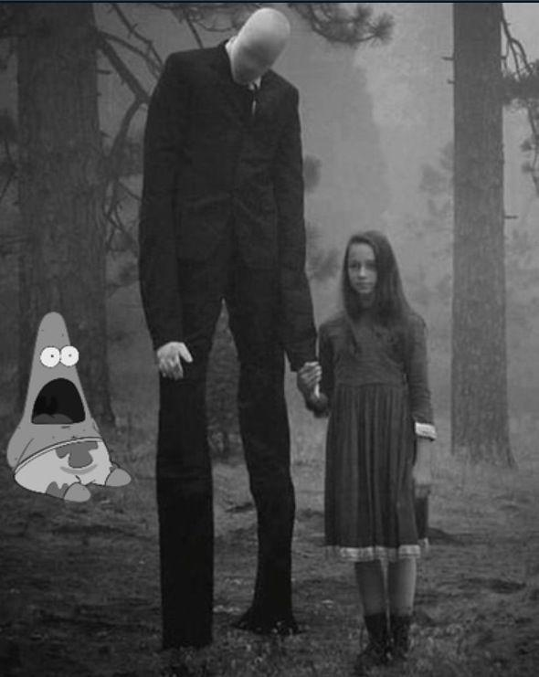 Slenderman and Girl