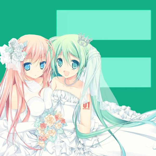 Miku and Luka stand for marriage equality