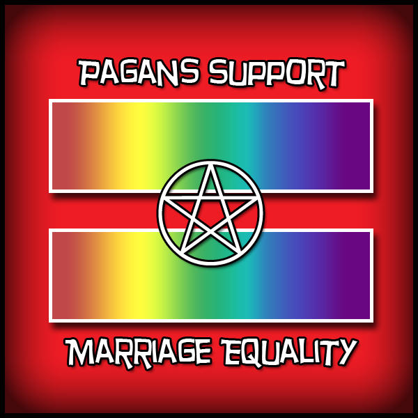 Pagans Support Marriage Equality