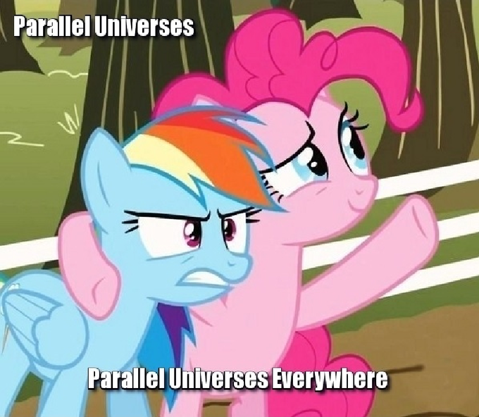 Parallel Universes, Parallel Universes Everywhere!