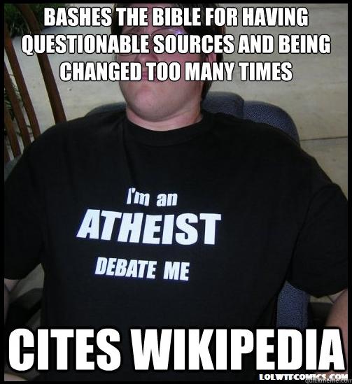 Scumbag Atheist