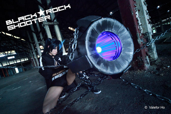 Black★Rock Shooter cosplay