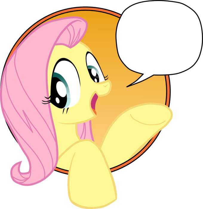 Vectorized Bad Advice Fluttershy