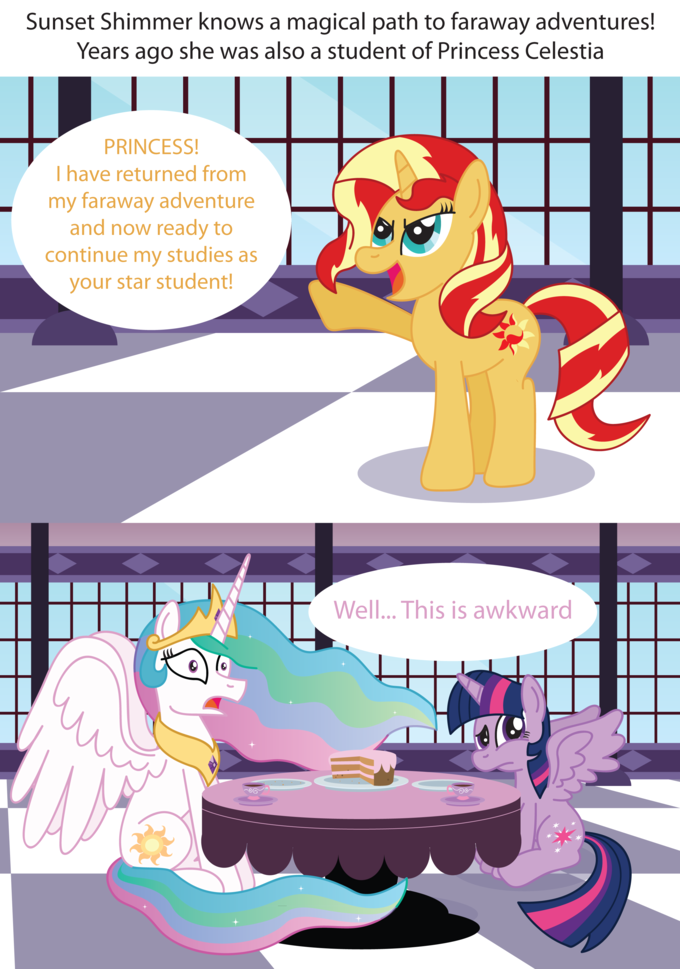 Sunset Shimmer Returns