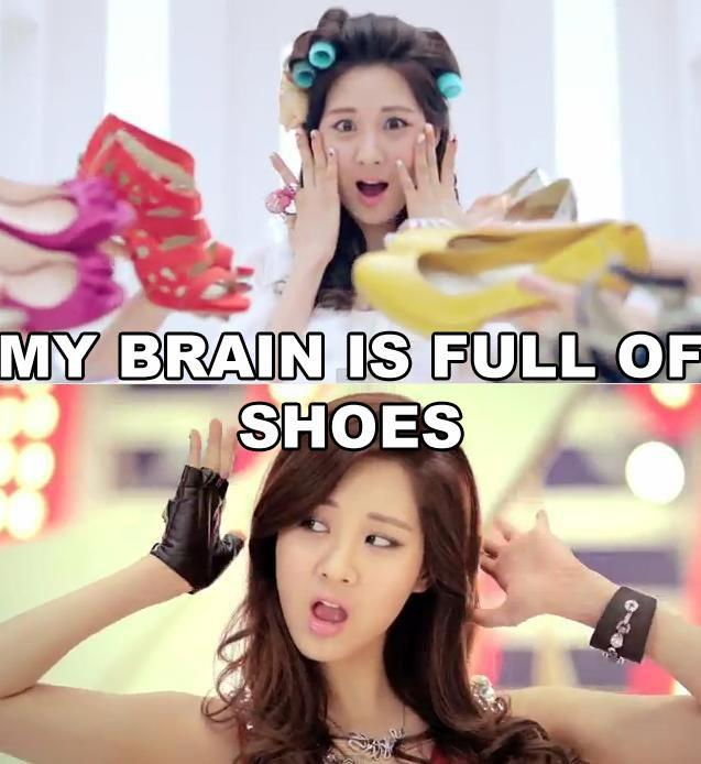 My Brain is Full of Shoes