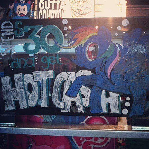 Hot Topic Window