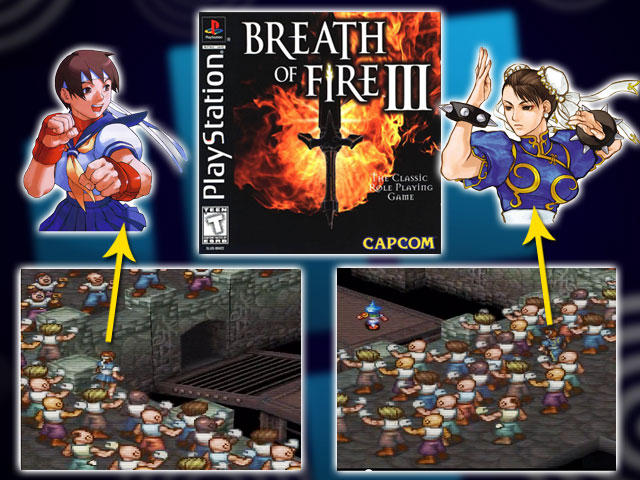 Breath of Fire III Cameo Appearances