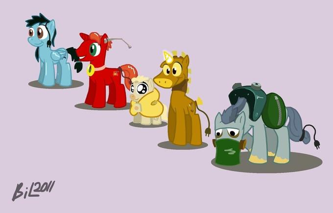 The Brave Little Toaster Ponified