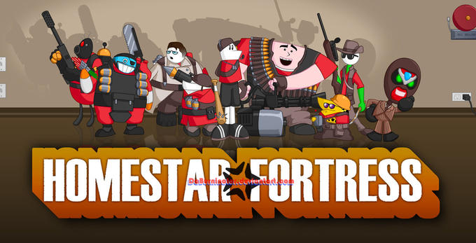 Homestarrunner.com X Team Fortress 2