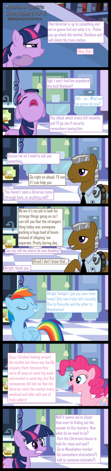 Mysteries of Equestria: Library Robbery: part 12