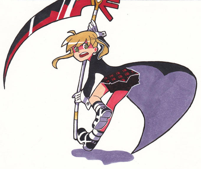 Maka from Soul Eater PSG