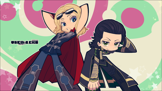 Thor and Loki PSG