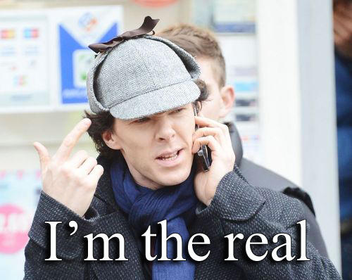 Benedict is the real