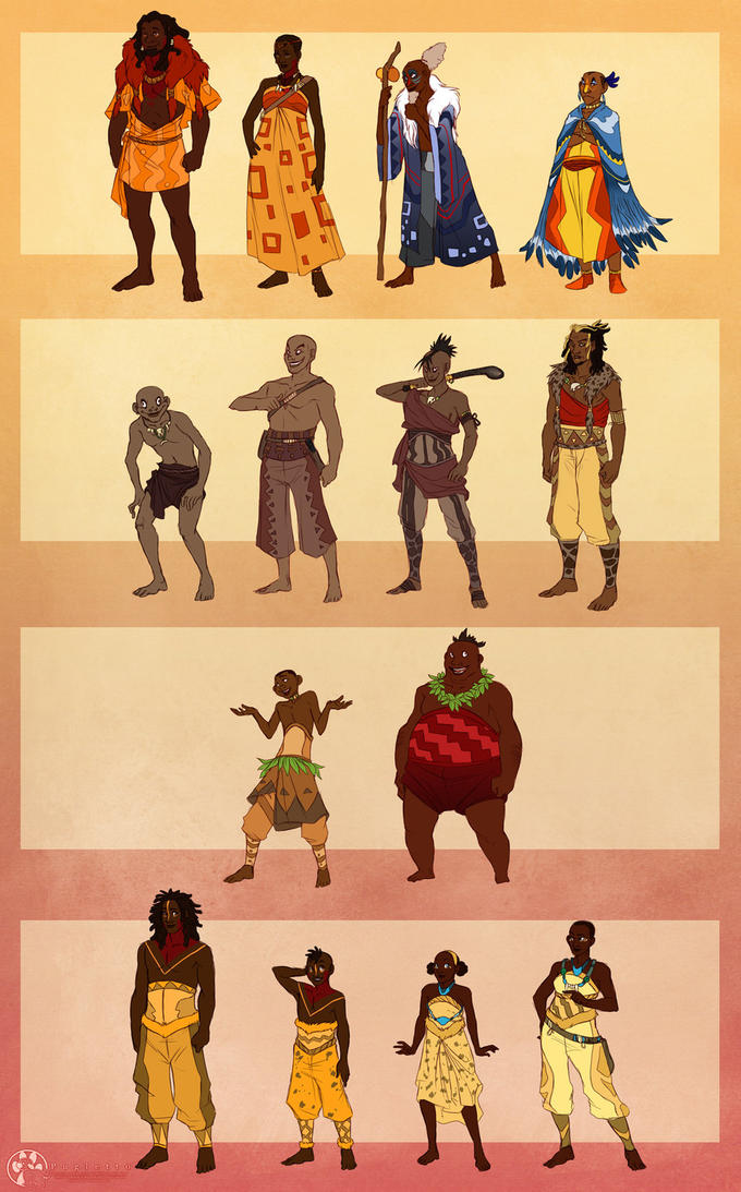 The Lion King Humanized.