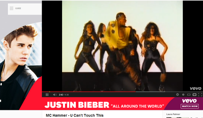 justin bieber can't touch that