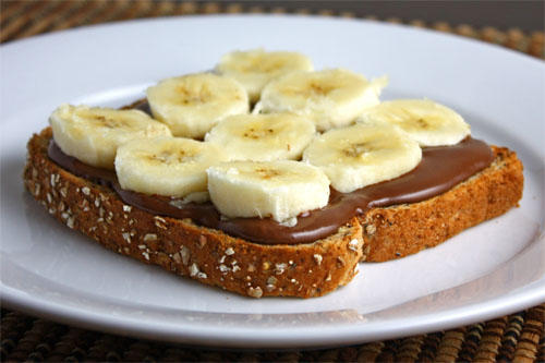 Banana Nutella Sandwich