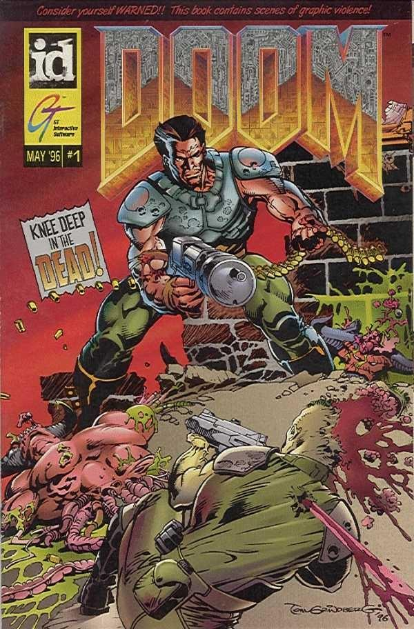 The Doom Comic: Cover