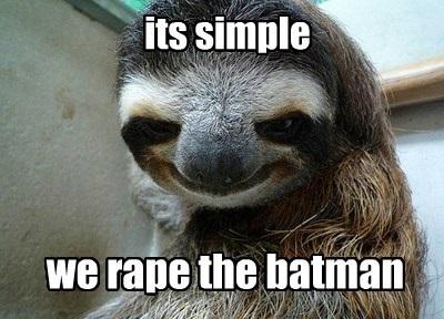 Rape The Batman