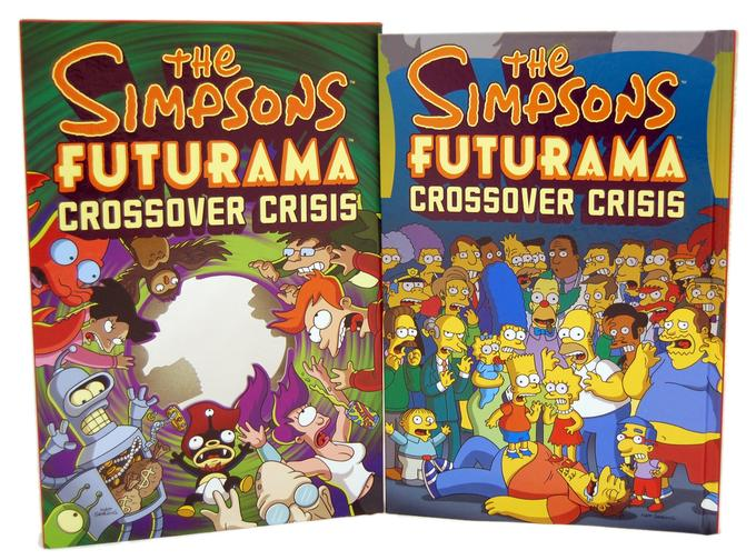 The Simpsons Futurama Crossover Crisis Comic Books