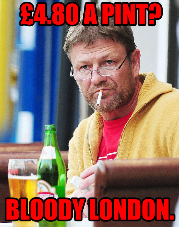 Grumpy Northerner Sean Bean