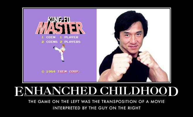 Jackie Chan Enhanced
