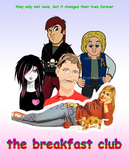 Clip Art Breakfast Club