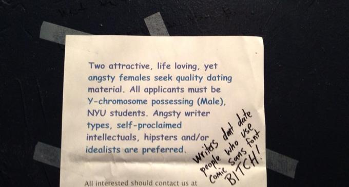 Angsty writers wanted for dating.