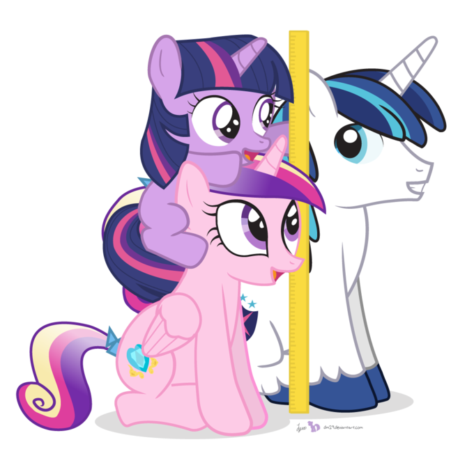 We're Taller Than Shining Armor!