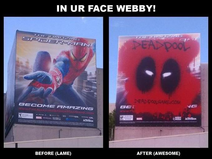 Deadpool Game Ad