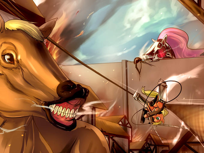Attack on Horsey
