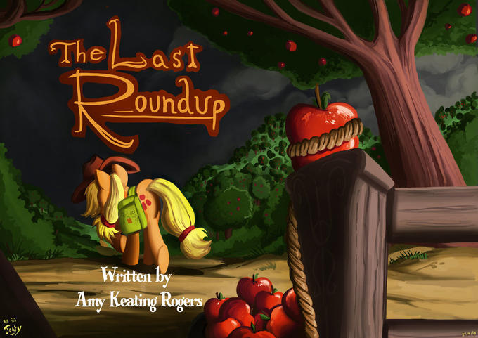 The Last Roundup Title Card