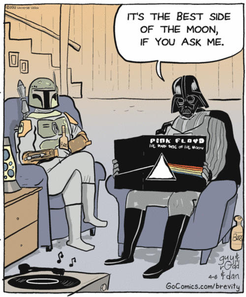 Darth Vader knows what talking about